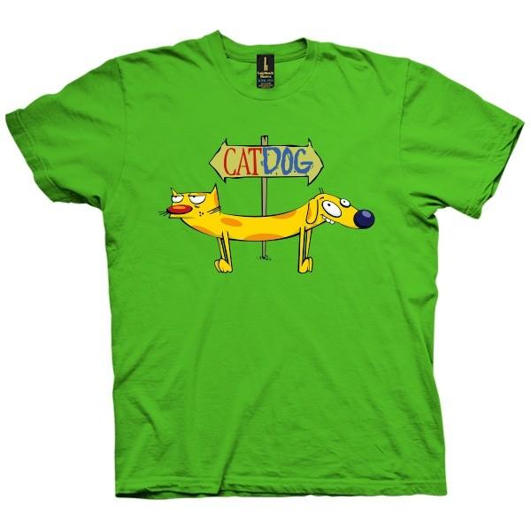 تی شرت CatDog