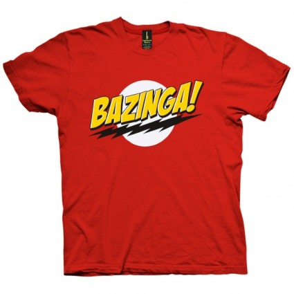 تی شرت Bazinga The Big Bang Theory