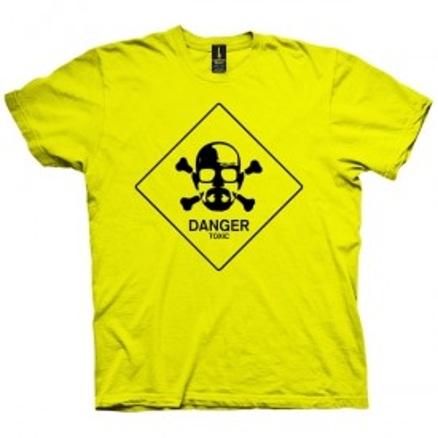 تی شرت Danger Toxic
