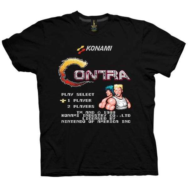تی شرت Konami Contra