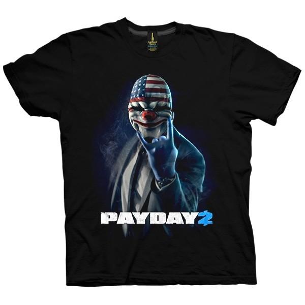 تی شرت بازی Payday