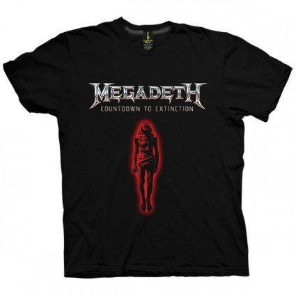 تی شرت Megadeath Countdown to Extinction