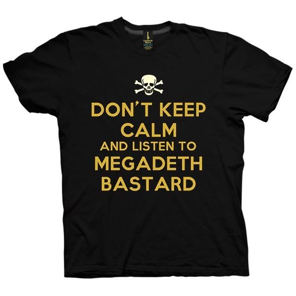 تی شرت Megadeth Bastard