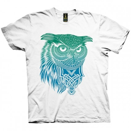 تی شرت Warrior Owl