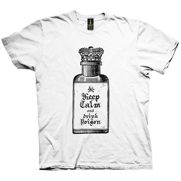 تی شرت Keep calm and drink poison