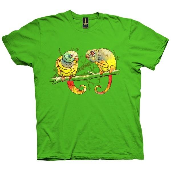 تی شرت Parrot