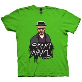 تی شرت Say My Name - Heisenberg