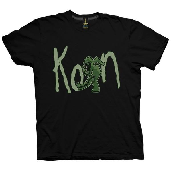 تی شرت گروه Korn طرح Zombie Slam