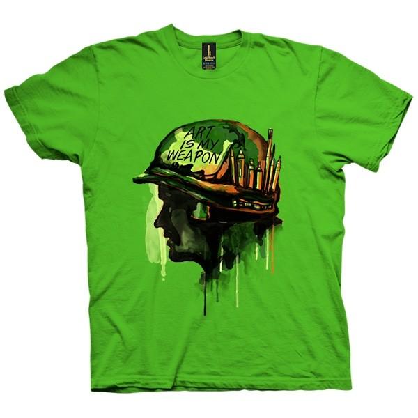 تی شرت ART IS MY WEAPON