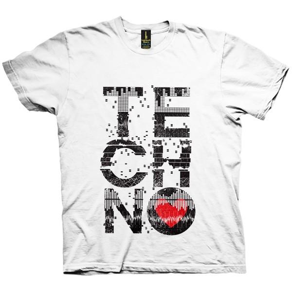 تی شرت Love Techno