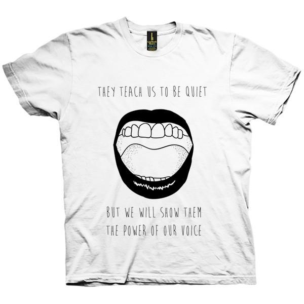 تی شرت Power of the Voice
