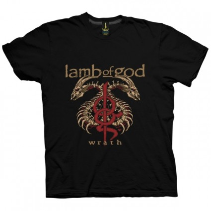 تی شرت Lamb of God Wrath