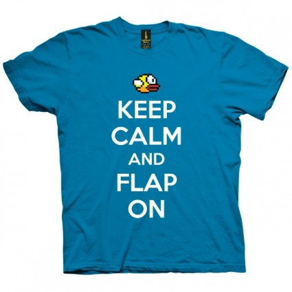 تی شرت Keep Calm Flap ON