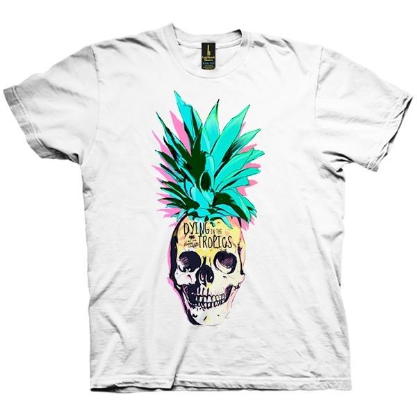 تی شرت Pineapple Skull