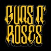 تی شرت Guns N' Roses Rose Cross