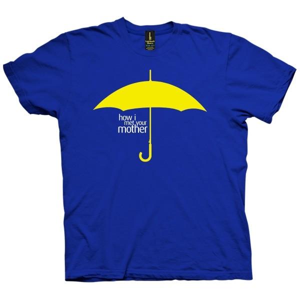 تی شرت How I met Your Mother Yellow Umbrella