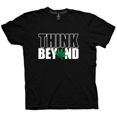 تی شرت Think Beyond
