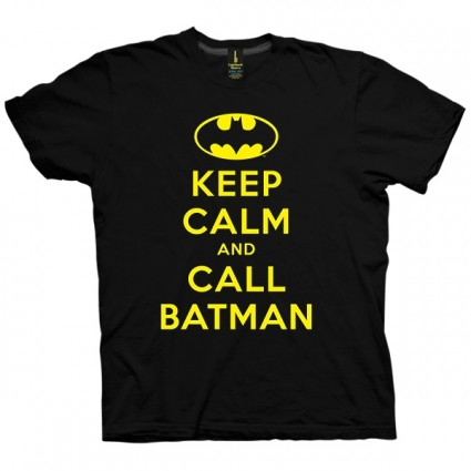 تی شرت Keep Calm And Call Batman