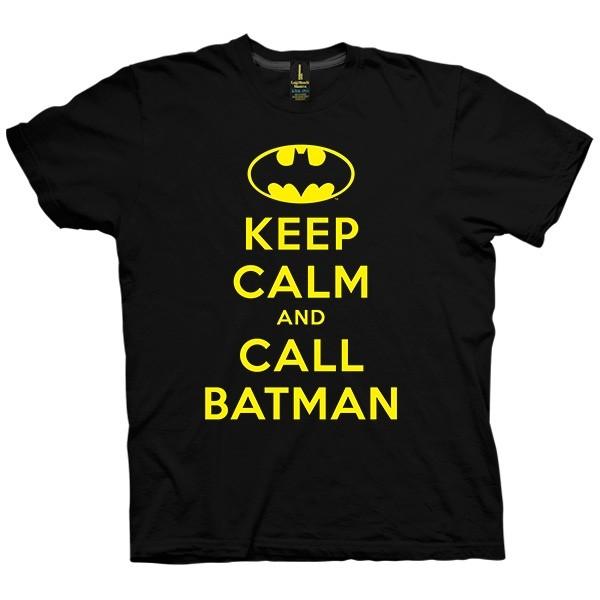 تی شرت Keep Calm And Call Batman
