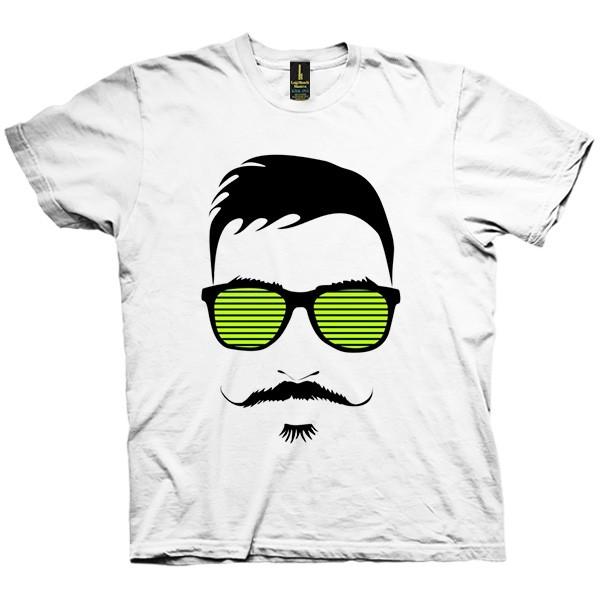 تی شرت Mustache