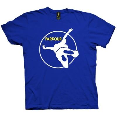 تی شرت Parkour Round