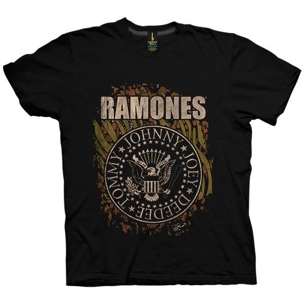 تی شرت The Ramones Animal Print