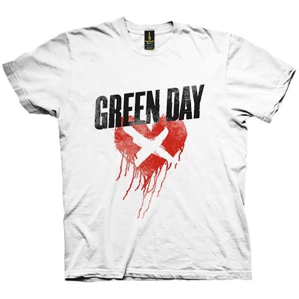 تی شرت Green Day Cross My Heart
