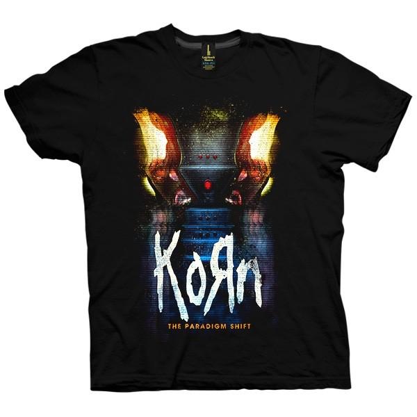 تی شرت Korn Distress Cover