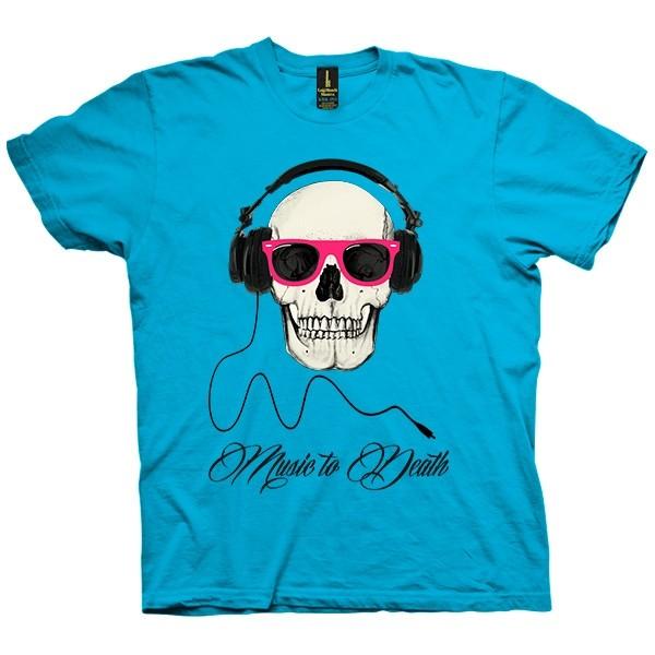 تی شرت Music to death