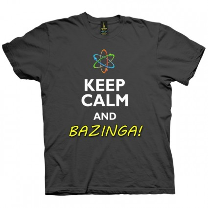 تی شرت Keep Calm and Bazinga