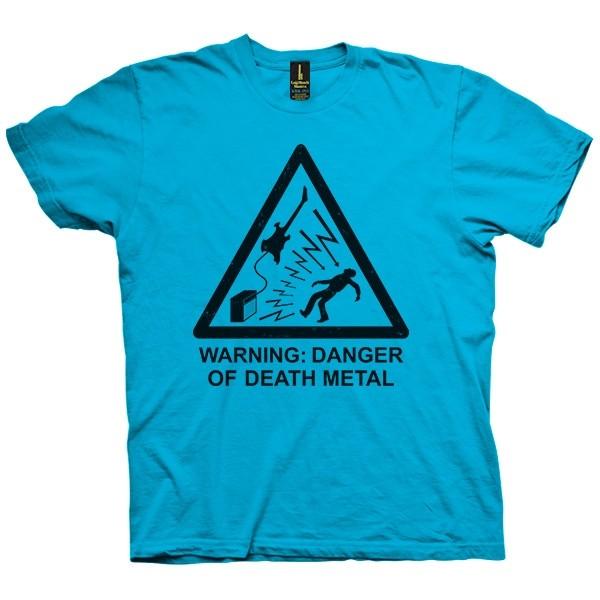 تی شرت Danger of Death Metal