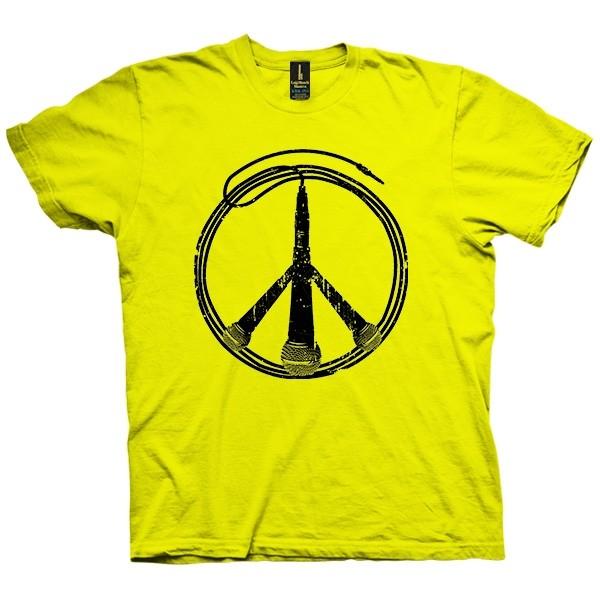 تی شرت Music Not War
