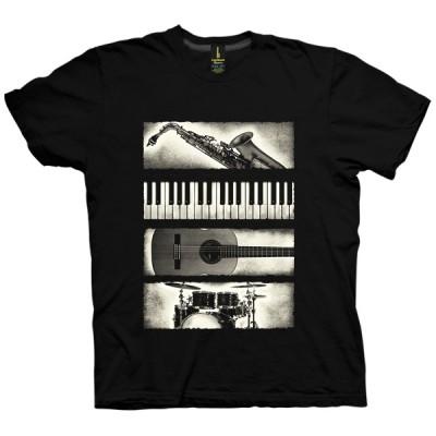 تی شرت Music Elements