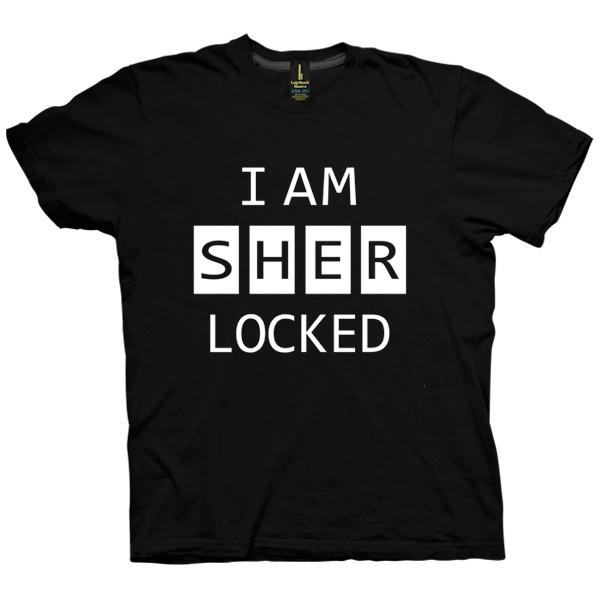 تی شرت Sherlocked