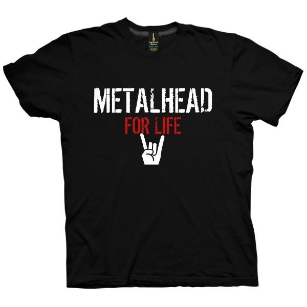 تی شرت Metalhead For Life