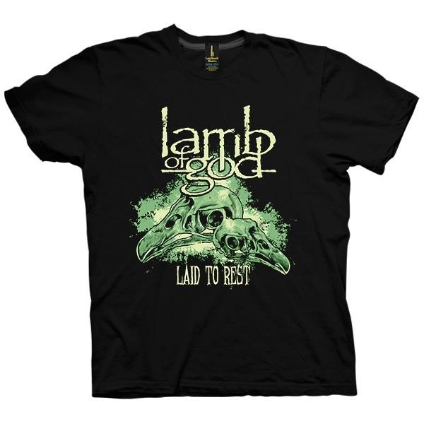 تی شرت Lamb of God Laid to Rest