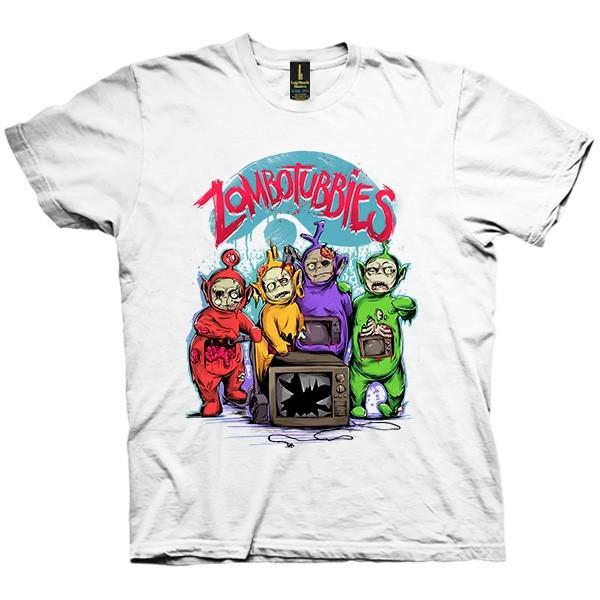 تی شرت Zombotubbies