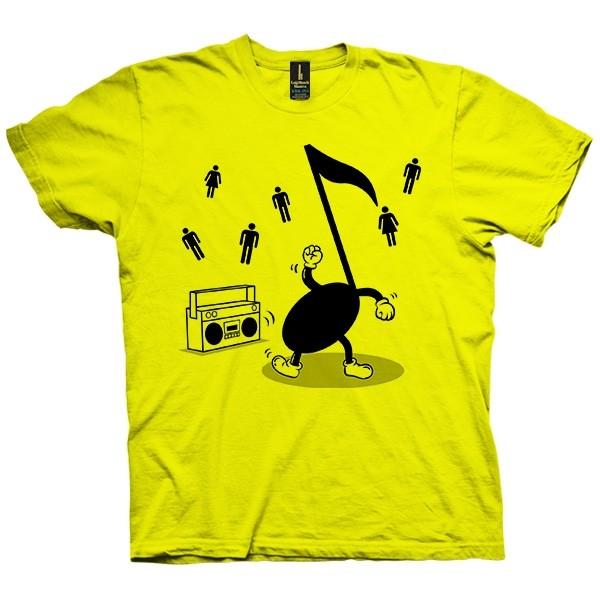 تی شرت Let the Music dance with You