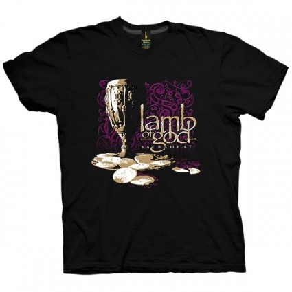 تی شرت Lamb of God Sacrament