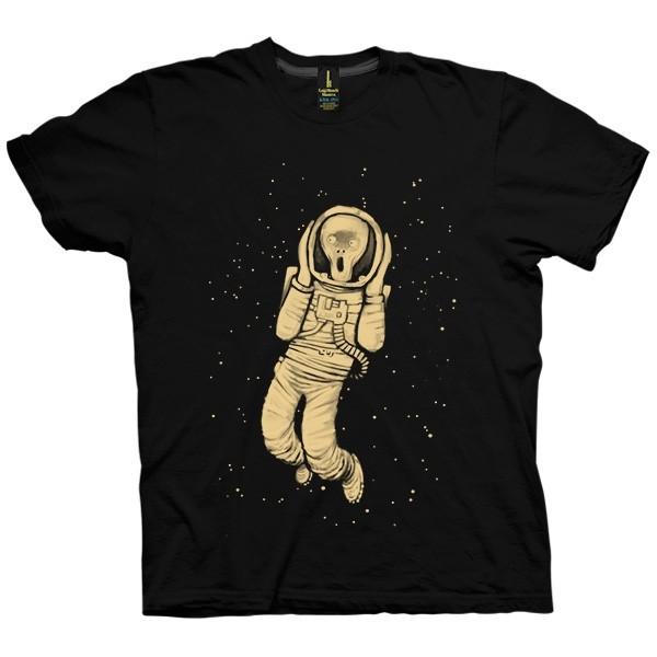 تی شرت in space no one can hear you scream
