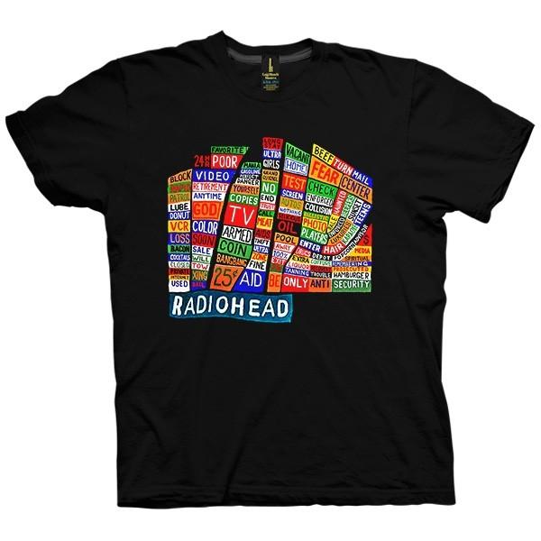 تی شرت Radiohead Hail To The Thief