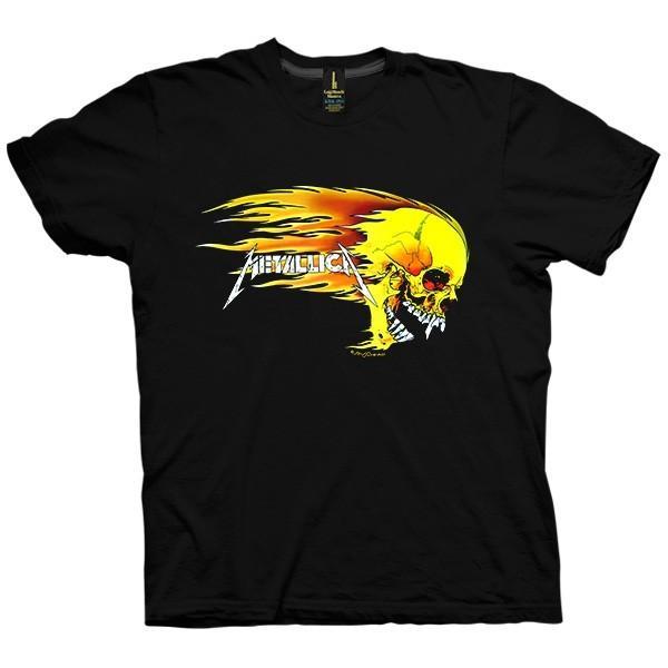 تی شرت متالیکا Skull Ghost