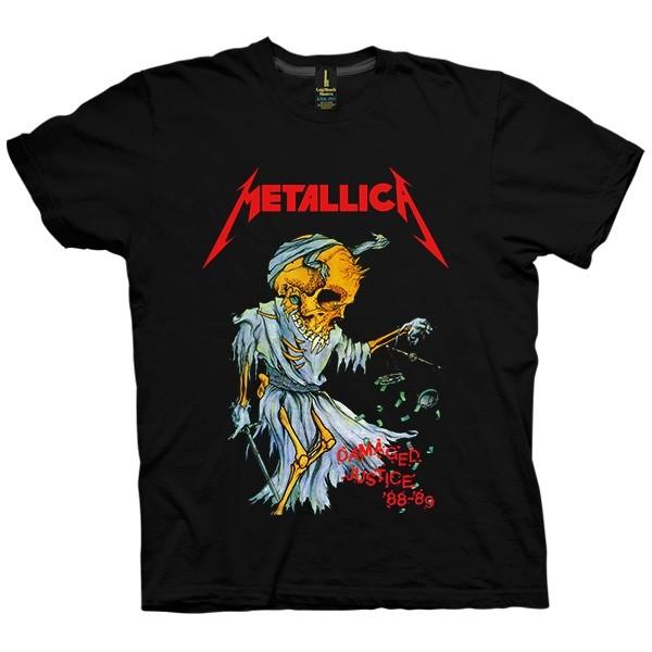 تی شرت متالیکا Dameged Justice