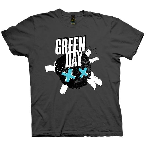 تی شرت Green Day Crossed Skull Redux