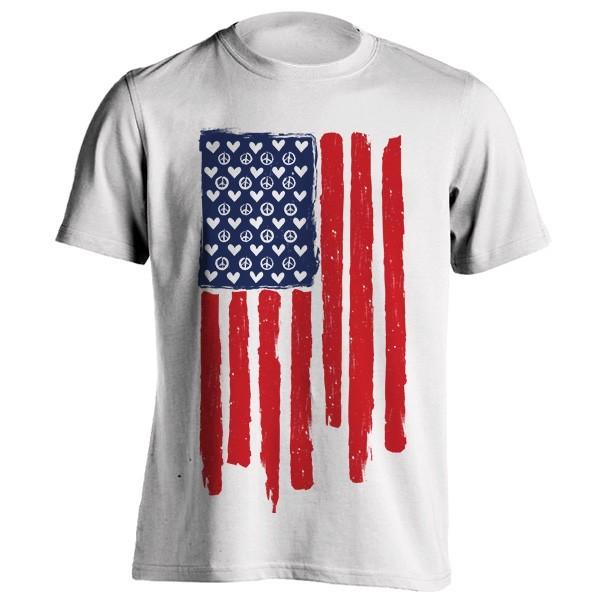 تی شرت Love unites in peace