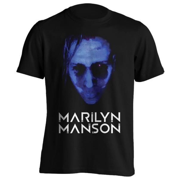 تی شرت Marilyn Manson Blue In The Face
