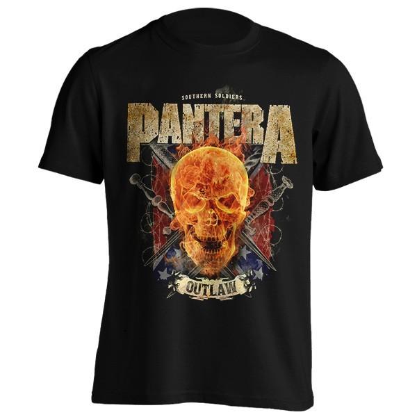 تی شرت Pantera Outlaw Skull