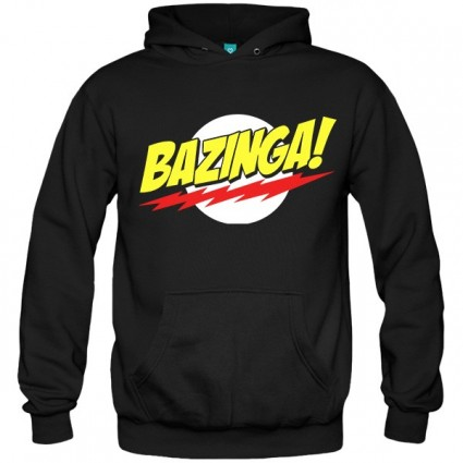 سویشرت هودی Bazinga The Big Bang Theory