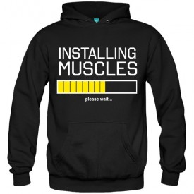 سویشرت هودی Installing Muscles