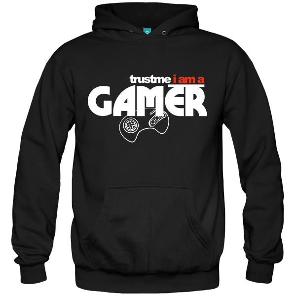 سویشرت هودی Trust me, I am a gamer
